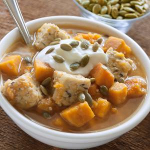 Sweet Potato & Tempeh Stew
