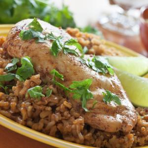 Chili-Lime Chicken Skillet