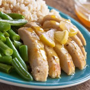 Honey-Lemon Chicken Skillet