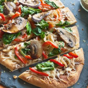 Warm Hummus Flatbreads