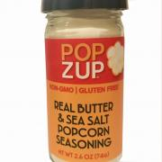 Popzup Real Butter & Sea Salt Popcorn Seasoning