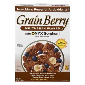 Grain Berry Bran Flakes Cereal