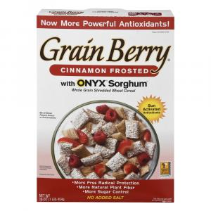 Grain Berry Whole Grain Cinnamon Frosted Shredded Wheat