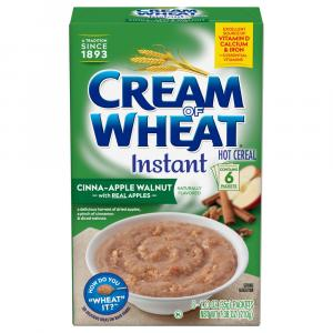 Cream Of Wheat Instant Cinna-apple Walnut Hot Cereal