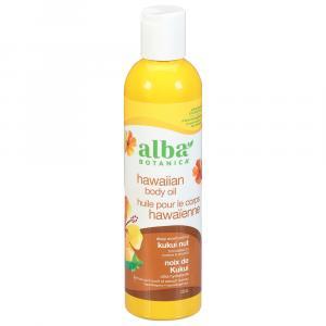 Alba Kukui Nut Massage Oil
