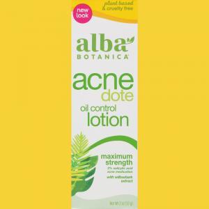 Alba Botanica Acne Dote Oil Control Lotion