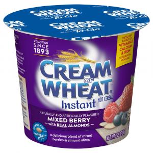 Cream Of Wheat Mixed Berry With Almonds