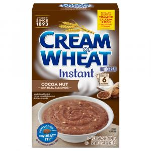 Cream Of Wheat Instant Hot Cereal Cocoa Nut With Cocoa,