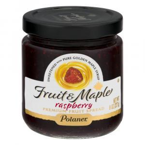 Polaner Fruit & Maple Raspberry Fruit Spread