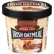 McCann's Maple Brown Sugar Irish Oatmeal Cup