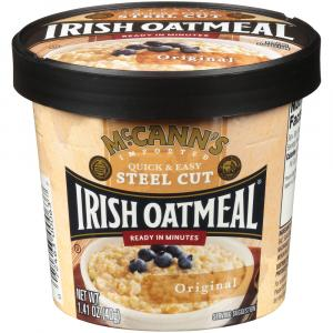 Mccann's Original Irish Oatmeal Cup