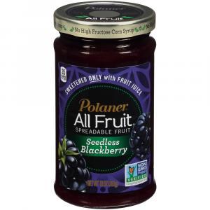 Polaner All Fruit with Fiber Blackberry Seedless Jam