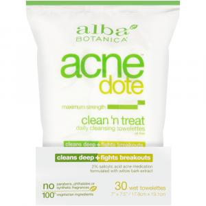 Alba Botanica Acne Dote Clean 'n Treat Daily Cleansing