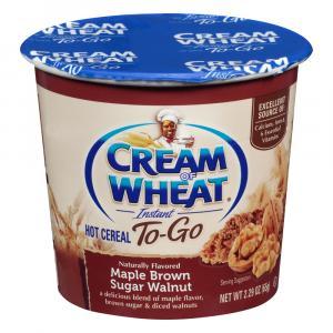 Cream Of Wheat Maple Brown Sugar Walnut