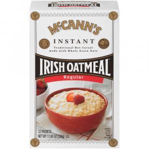 McCann's Instant Irish Oatmeal Regular