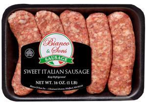 Bianco & Sons Sweet Italian Sausage