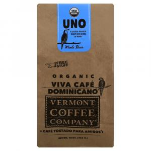 Vermont Coffee Company Uno Roasted Whole Bean Coffee