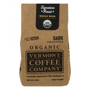 Vermont Coffee Company Organic Whole Bean Dark Roast Coffee