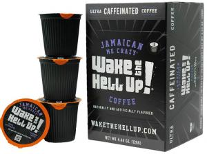 Utica Coffee Wake The Hell Up Jamaican Me Crazy K-Cups