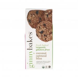 Ginny Bakes Coconut Oatmeal Bliss Cookies