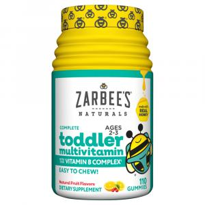 Zarabee's Natural Toddler's Multi Vitamin Gummy Fruit Flavor
