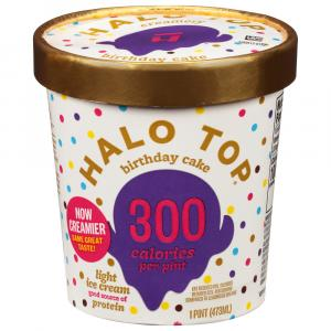 Halo Top Birthday Cake Ice Cream
