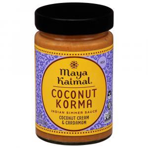 Maya Kaimal Coconut Korma Indian Simmer Sauce