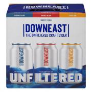 Downeast Unfiltered Craft Cider Variety Pack