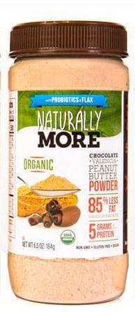 Naturally More Chocolate Almond Butter Powder