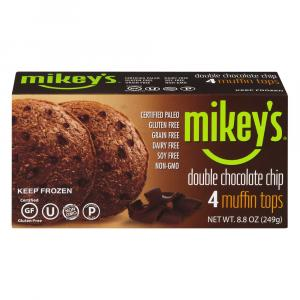 Mikey's Double Chocolate Chip Muffin Tops Gluten Free