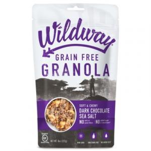 Wildway Grain Free Granola Dark Chocolate Sea Salt