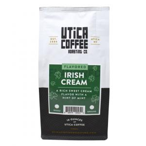 Utica Coffee Roasting Co. Ground Coffee Irish Cream