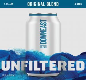 Downeast Unfiltered Craft Cider Original Blend
