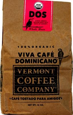 Vermont Coffee Company Dos Roasted Whole Bean Coffee
