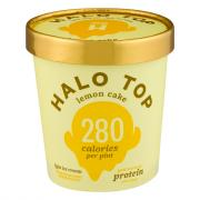 Halo Top Lemon Cake Ice Cream