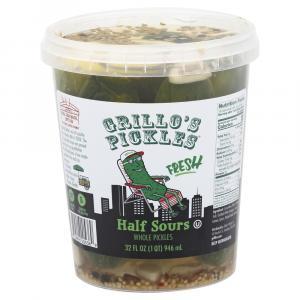 Grillo's Pickles Half Sour Pickles