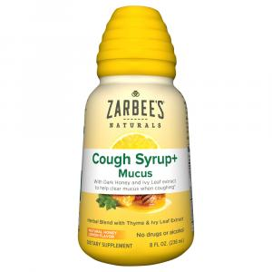 Zarbee's Cough Syrup + Mucus With Dark Honey Herbal Blend