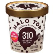 Halo Top Cookies and Cream Light Ice Cream