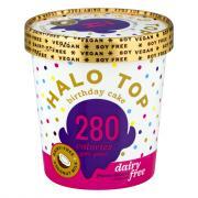 Halo Top Birthday Cake Non Dairy Ice Cream