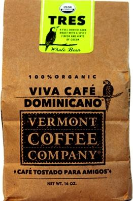 Vermont Coffee Company Tres Roasted Whole Bean coffee