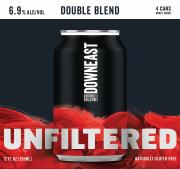 Downeast Unfiltered Craft Cider Double Blend