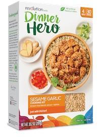 Dinner Hero Sesame Garlic Cooking Kit