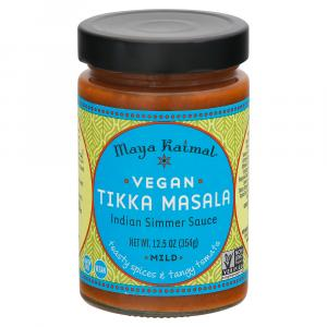 Maya Kaimal Vegan Tikka Masala Indian Simmer Sauce