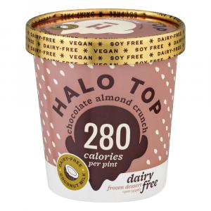 Halo Top Chocolate Almond Crunch Dairy Free