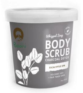 Bodhi Whipped Soap Body Scrub Charcoal Detox Eucalyptus Spa