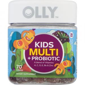 Olly Kid's Multivitamin & Probiotics Berry Punch