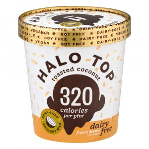 Halo Top Toasted Coconut Dairy Free
