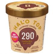 Halo Top Oatmeal Cookie Ice Cream