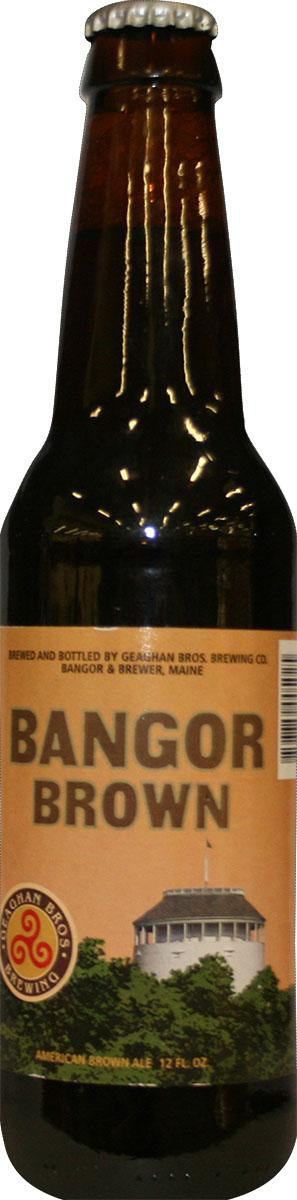 Geaghan Bros. Brewing Bangor Brown American Brown Ale