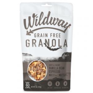 Wildway Grain Free Granola Vanilla Bean Espresso